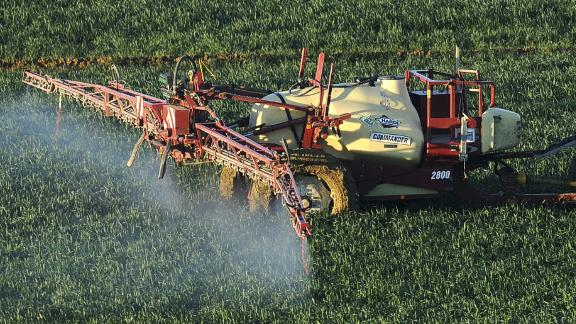 """Most fertilizers -- including manure -- release nitrous oxide. Better known as """"laughing gas,"""" nitrous oxide is no joke when it comes to climate change. It's a greenhouse gas that can stay in the atmosphere for more than 100 years, and is up to 300 times more powerful than carbon dioxide. It accounts for around 6% of our total greenhouse gas emissions.   However, without nitrogen fertilizers, crops like wheat would need more land to grow on, and that would produce even greater emissions, according to one study published by the University of California."""