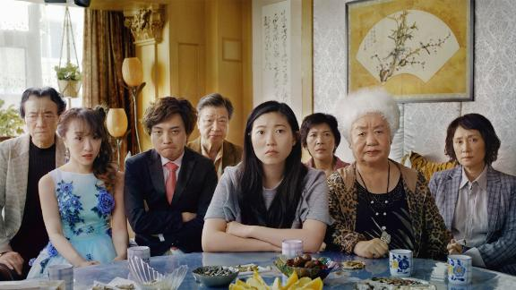 """(July 12) -- If you loved Awkwafina in """"Crazy Rich Asians,"""" you're about to fall in love with her all over again in this drama written and directed by Lulu Wang. Awkwafina plays Billi, a Chinese-American who goes to China to visit her dying grandmother. The family knows that their matriarch has been diagnosed with lung cancer, but she doesn't. Keeping this news begins to tear the family apart, with Awkwafina's character feeling like she's betraying her. <br />"""