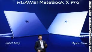 Microsoft pulls Huawei laptops from its online store