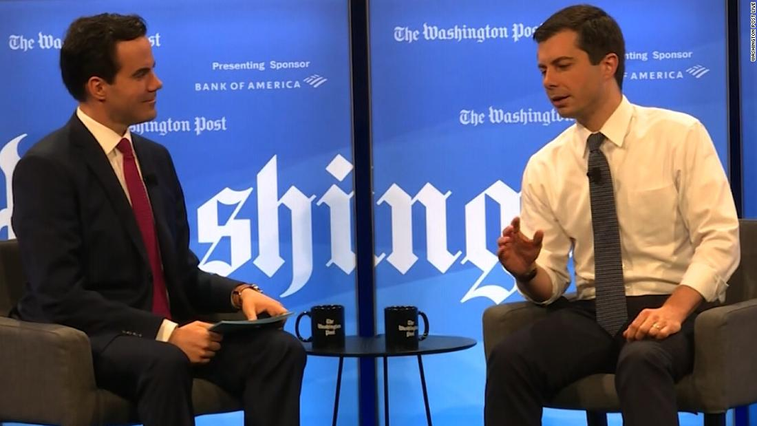 Buttigieg accuses Trump of 'eroding the integrity of the military' with possible pardons