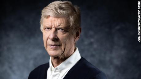 TOPSHOT - Former Arsenal manager Arsene Wenger of France poses during a photo session in Paris on May 22, 2019. (Photo by JOEL SAGET / AFP)        (Photo credit should read JOEL SAGET/AFP/Getty Images)