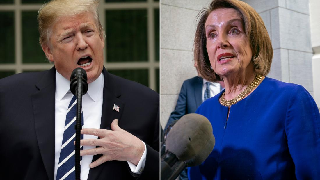 Donald Trump falls for Nancy Pelosi's trap