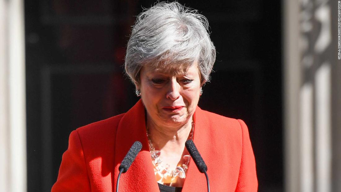 Live: Theresa May to resign as UK Prime Minister - CNN