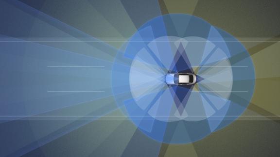 Nissan's ProPilot 2.0 relies on an array of cameras, as well as radar and sonar sensors.