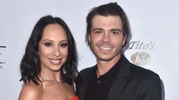 Cheryl Burke and Matthew Lawrence attend a September gala in Santa Monica, California.