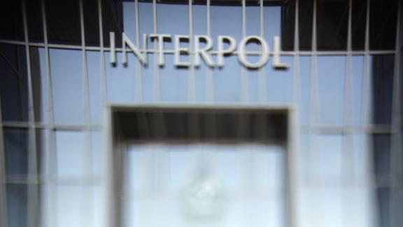 A picture of Interpol's building taken on October 19, 2007, in Lyon, France.