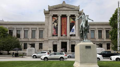 The Museum of Fine Arts, Boston conducted an investigation after the students reported the incidents.