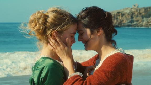 "Adele Haenel and Noemie Merlant in ""Portrait of a Lady on Fire,"" an 18th century love story by French director Celine Sciamma."