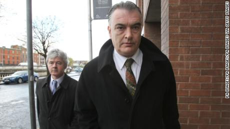 Ian Bailey, and his solicitor, Frank Buttimer, leave Dublin High Court after he won the right to appeal his extradition order to France.