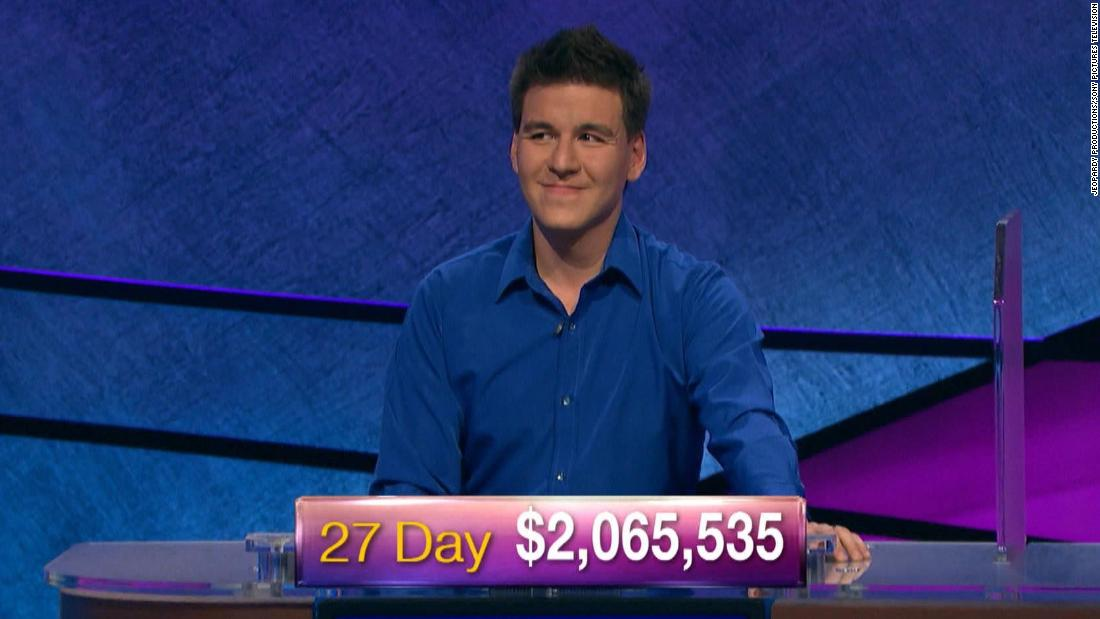 'Jeopardy!' champion James Holzhauer passes $2 million mark