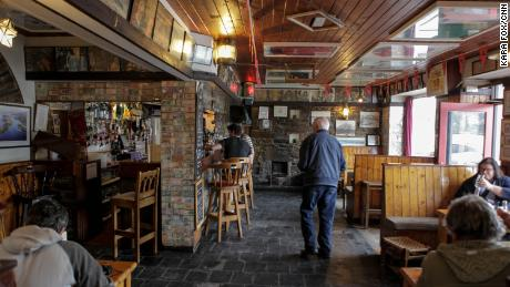 Inside O'Sullivan's bar in Crookhaven, believed to be one of the last places Sophie Toscan du Plantier was seen before she was murdered.