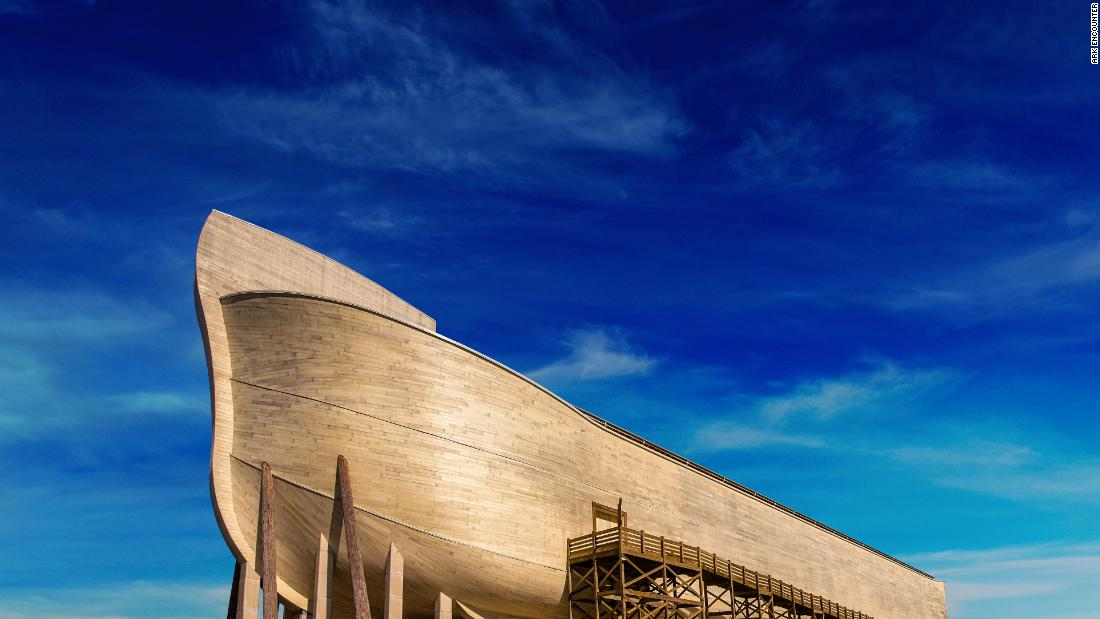 Owners of a Noah's Ark replica file a lawsuit over rain damage