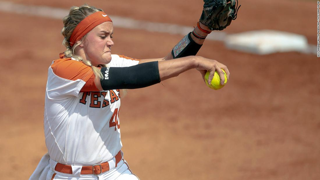 College softball pitcher hospitalized after a teammate's throw hit her in the face