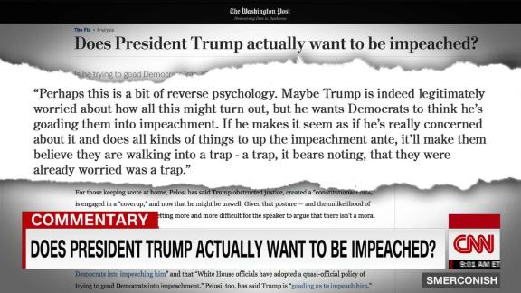 Comment: Does President Trump want to be impeached? _00013923.jpg