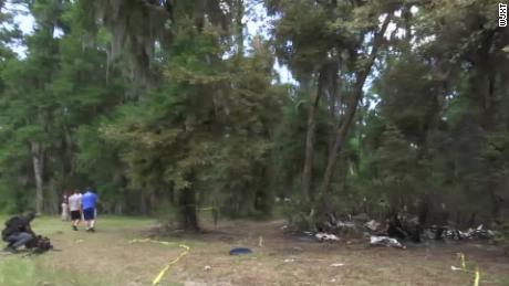 A single-engine plane crashed Saturday on the north of St. Simons Island, Georgia.