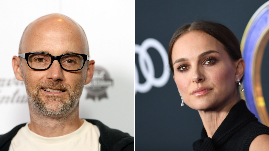 Moby apologizes to Natalie Portman after claiming in his new book that they dated