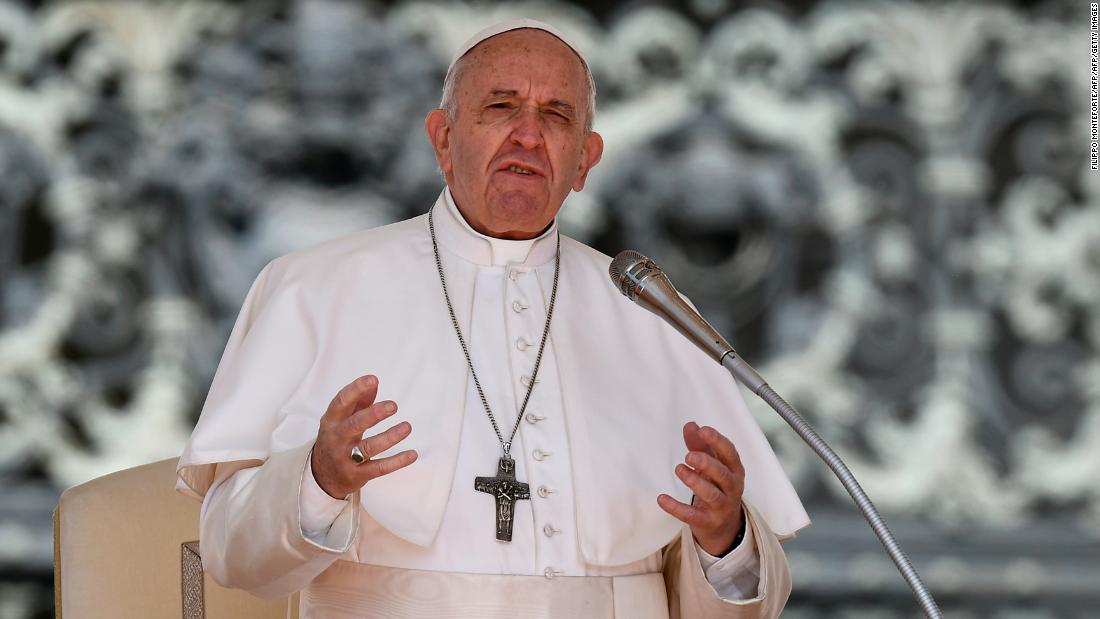 Pope likens abortion to 'hiring a hitman' at anti-abortion conference
