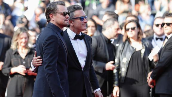 DiCaprio was also joined on the red carpet by Formula E CEO Alejandro Agag as the new sport continues to grow in popularity.