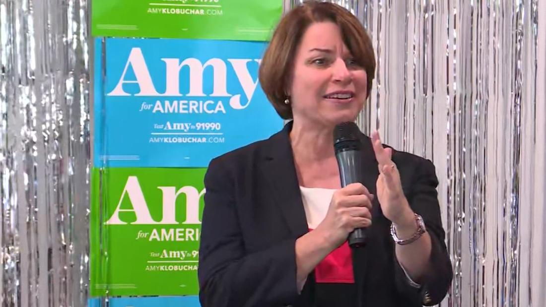 Klobuchar says John McCain 'kept reciting' dictator names during Trump's inauguration