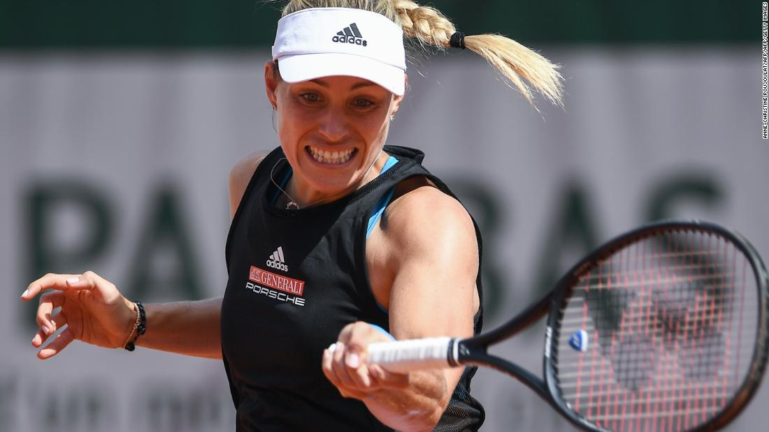 Three-time grand slam champion Angelique Kerber will have to wait to complete her collection of majors. Just back from an injury, she fell to former junior No. 1 Anastasia Potapova.