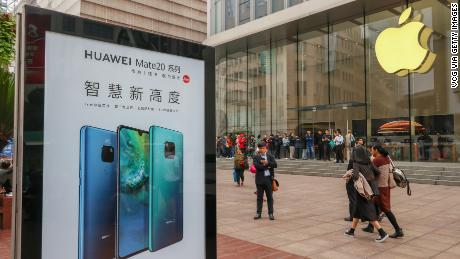 Huawei CEO says China should not punish Apple
