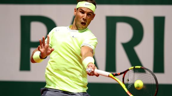 Nadal will next face another German in the second round, Yannick Maden.