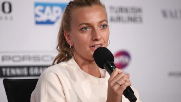 And Petra Kvitova, one of the contenders, had to pull out of the event due to a forearm injury.