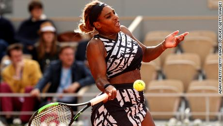 where is serena williams today
