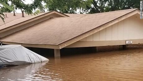 Large areas of the central US are under water -- and the