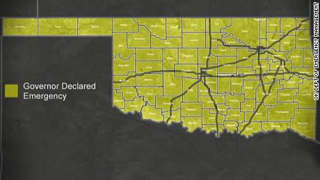 Oklahoma flood: Every county is under state of emergency - CNN
