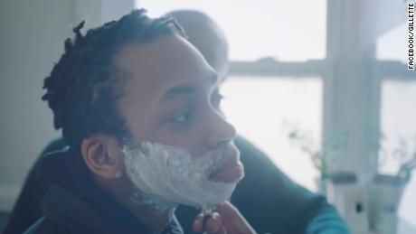 Transgender man learns to shave in touching Gillette ad