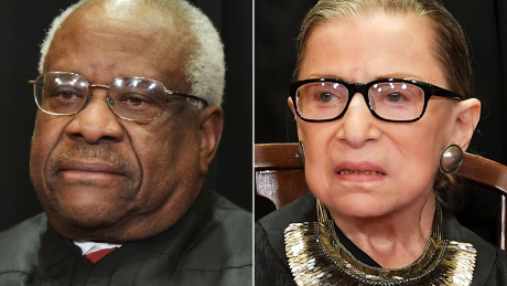 Thomas, Ginsburg draw battle lines for future abortion cases