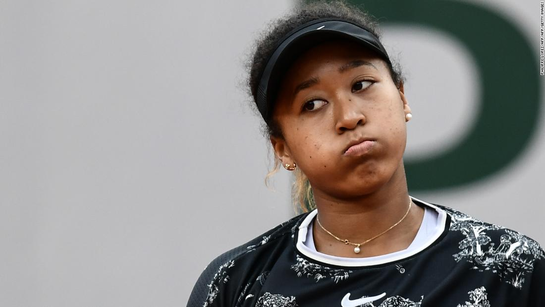 Osaka lost the first set 6-0, so an upset was a possibility.