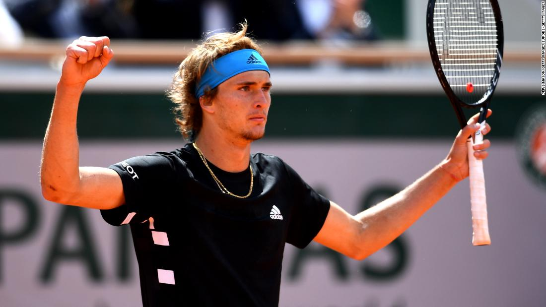 Alexander Zverev, the fifth seed, won three five-set matches last year in Paris. He won another five-setter Tuesday over John Millman.