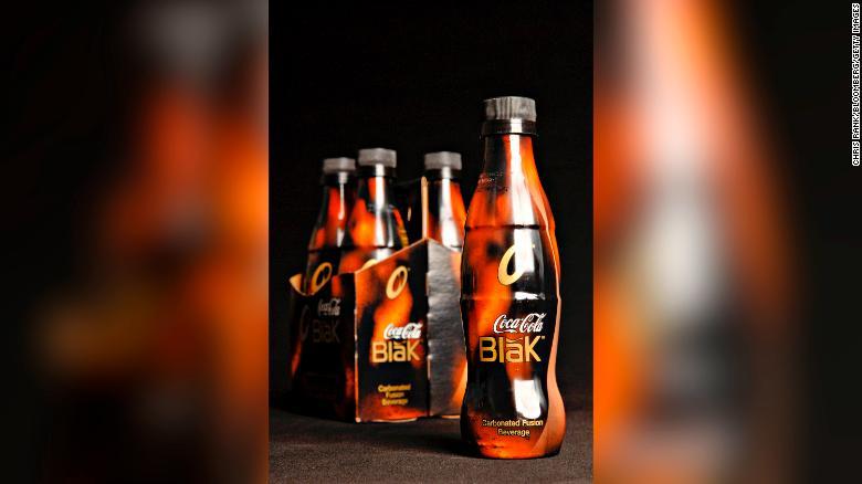 The short-lived Coca-Cola Blak.