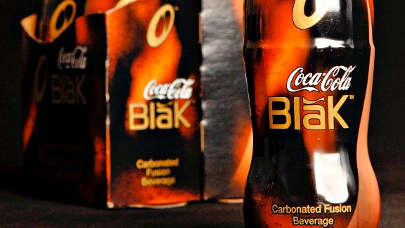The short-lived Coca-Cola Blak.