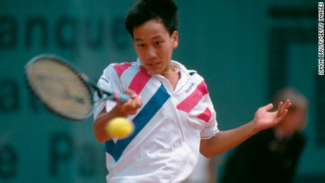 Michael Chang, then 17, stunned world No.1 Ivan Lendl in 1989.