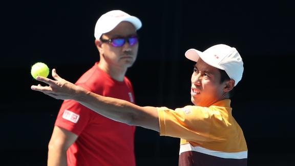 Michael Chang is coach to Japanese star Kei Nishikori.