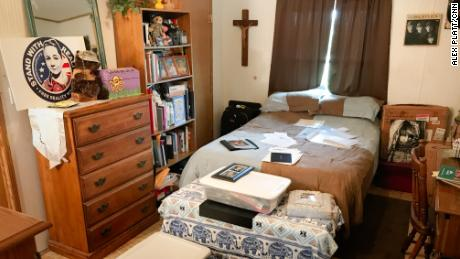 Reality Winner's bedroom at her family home in rural southern Texas.