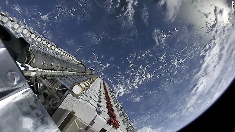 The SpaceX Starlink satellite constellation