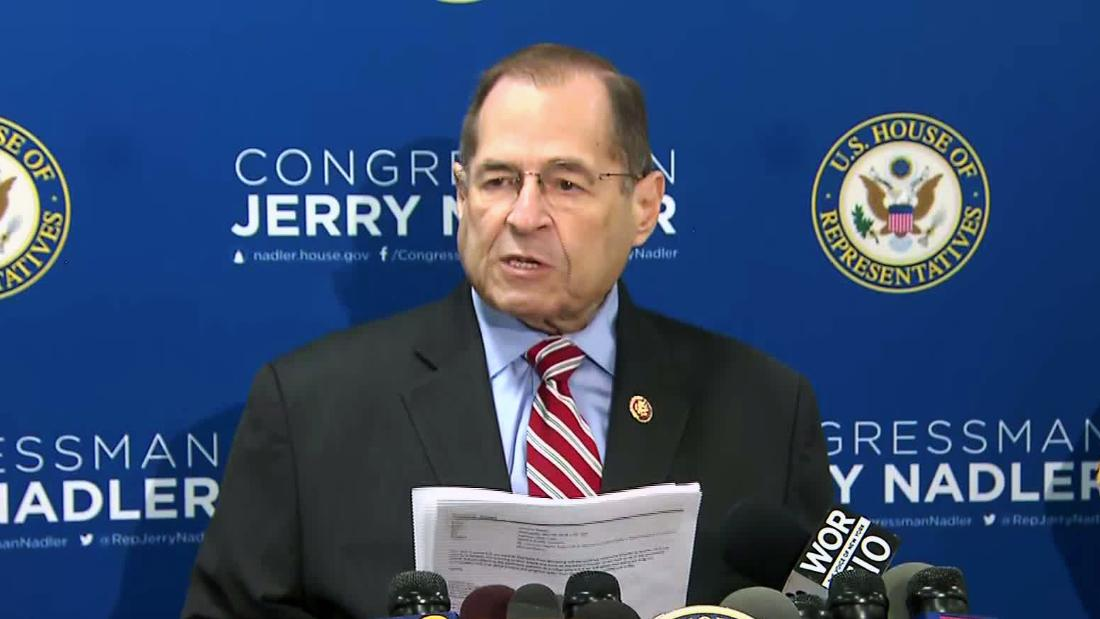 Justice Department strikes deal with House Democrats over Mueller report evidence, Nadler says