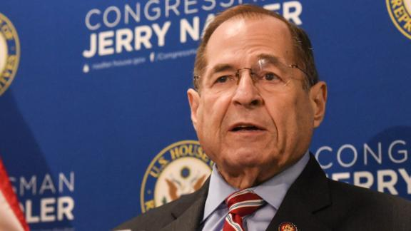 NEW YORK, NY - MAY 29: Committee Chairman of U.S. House Judiciary Committee Rep. Jerry Nadler (D-NY) speaks to members of the press on May 29, 2019 in New York City. Jerry Nadler offered made remarks about Special Counsel Mueller's statement on the Russian probe and the conclusion of his investigation into President Trump and his associates. (Photo by Stephanie Keith/Getty Images)