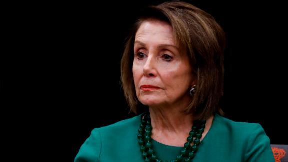 Speaker of the House Nancy Pelosi, D-Calif., pauses during a panel discussion at Delaware County Community College, Friday, May 24, 2019, in Media, Pa. (AP Photo/Matt Slocum)