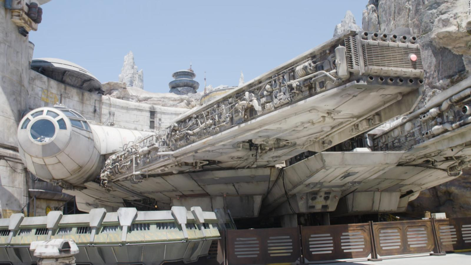 Star Wars Rise Of The Resistance Inside The New Ride At Galaxy S Edge Cnn
