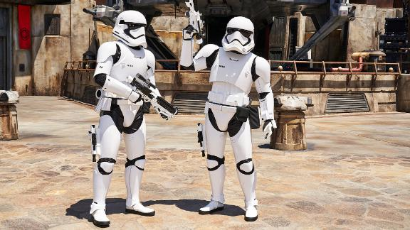 First Order Stormtroopers signal that Galaxy
