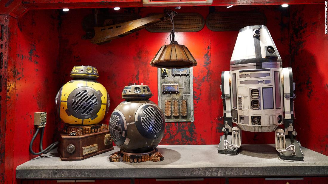 Guests will be able to build their own personal droids.
