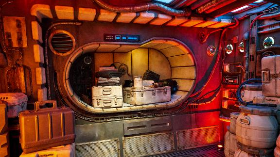 This is inside the main hold of the Falcon.