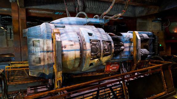 As you make your way through this hangar of Smuggler