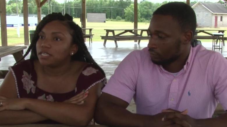 Black Couple Dominates White
