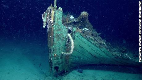 Explorers stumble upon mysterious shipwreck